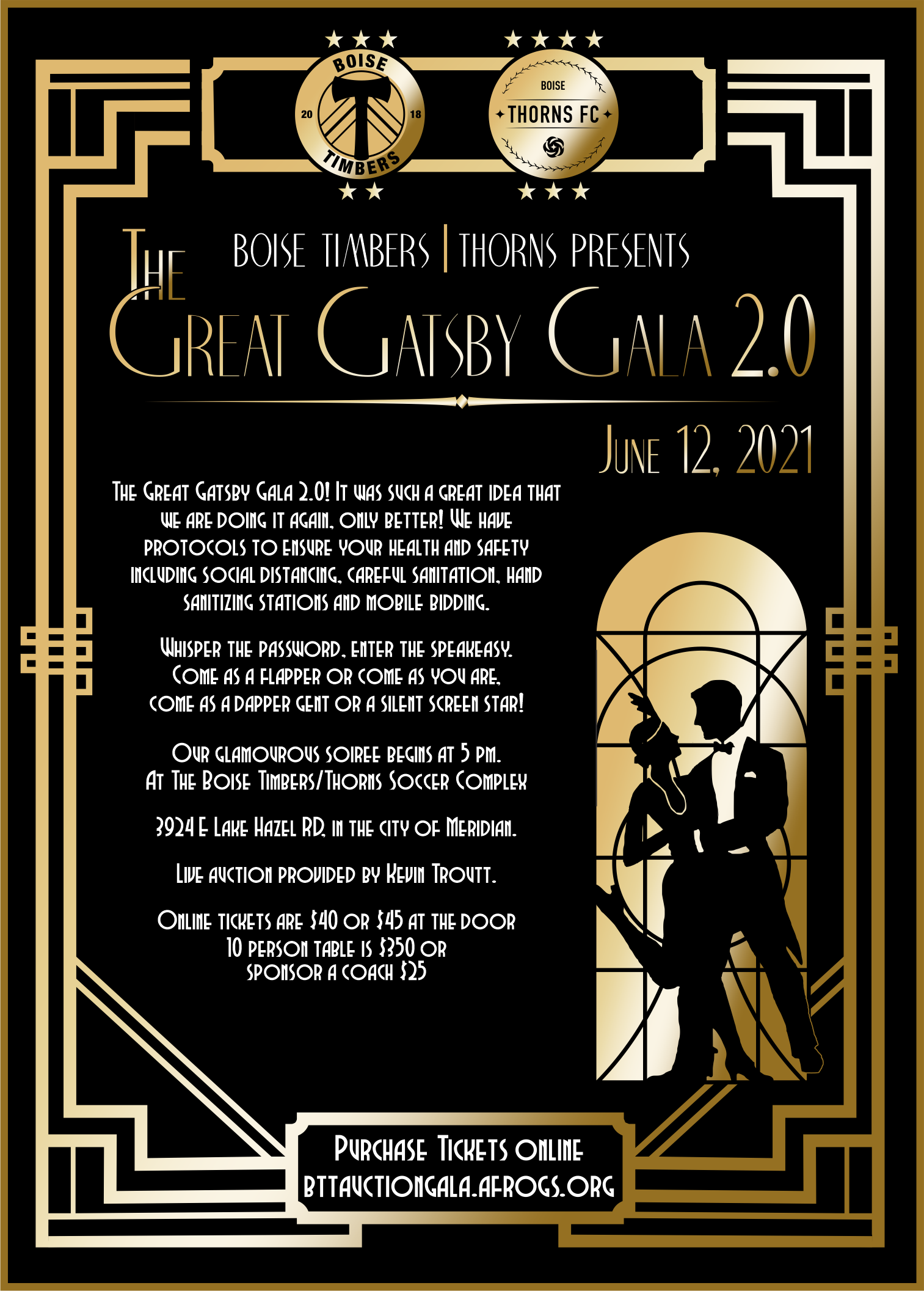 The Great Gatsby Auction Gala 2.0