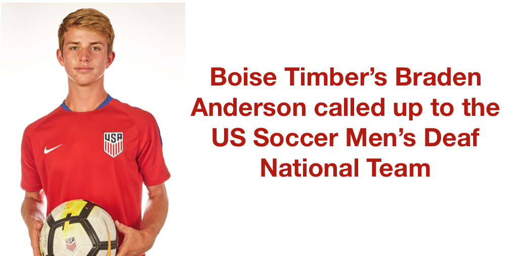 Boise Timber called up to US National Team...Click here to read how you can HELP?