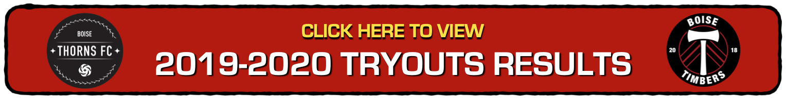 2019-2020 TRYOUTS RESULTS