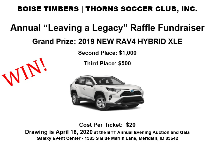 BTT CAR RAFFLE